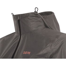 GORE WEAR R7 Gore-Tex Shakedry Hooded Jacket Damen lava grey